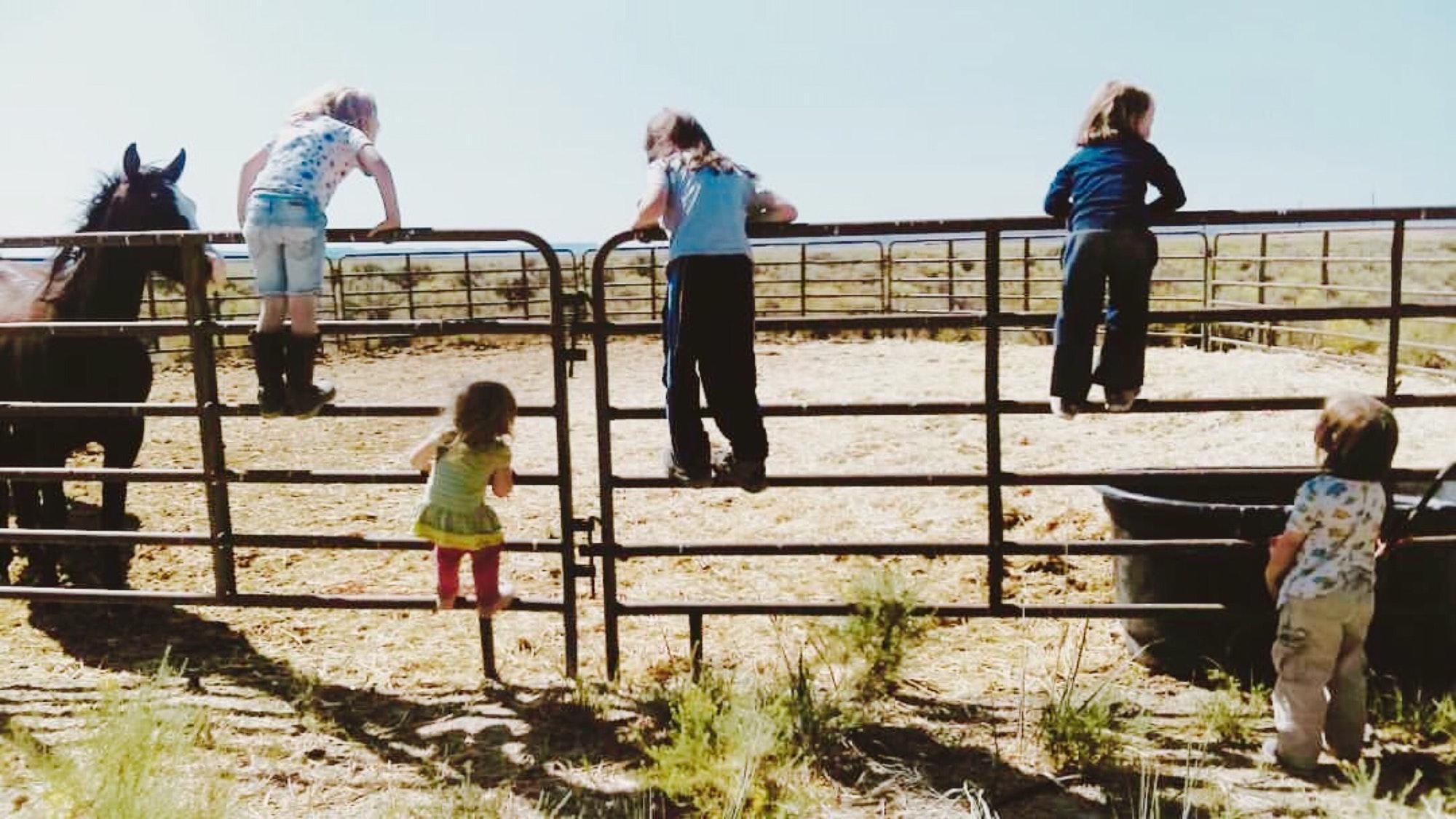 Farming kids